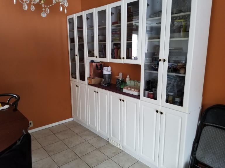 High Quality Glass Door Cabinet