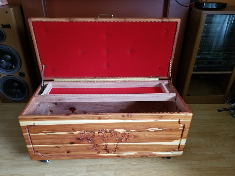 Solid Tennessee Cedar Chests